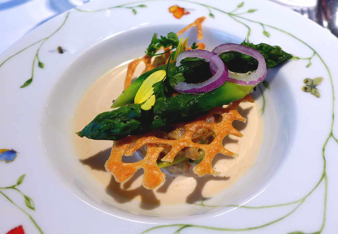 Restaurant Jacques Faussat : Daurade sauvage marinée citron vert