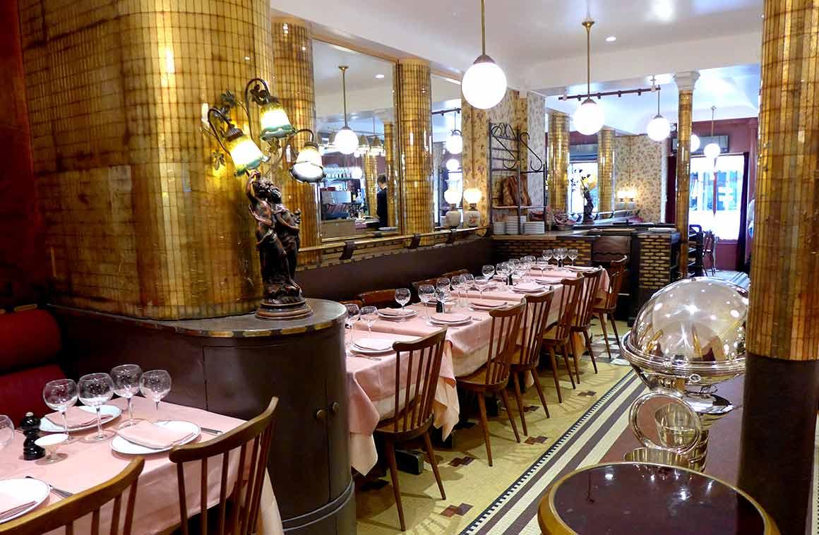 Restaurant La Poule au Po, la salle