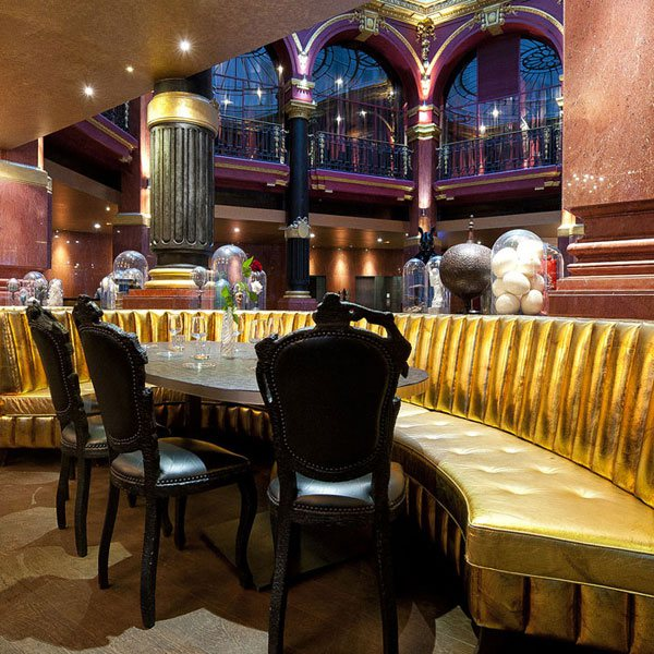Restaurant Josefin, La salle