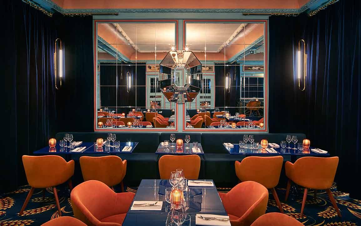 La salle du restaurant FROUFROU