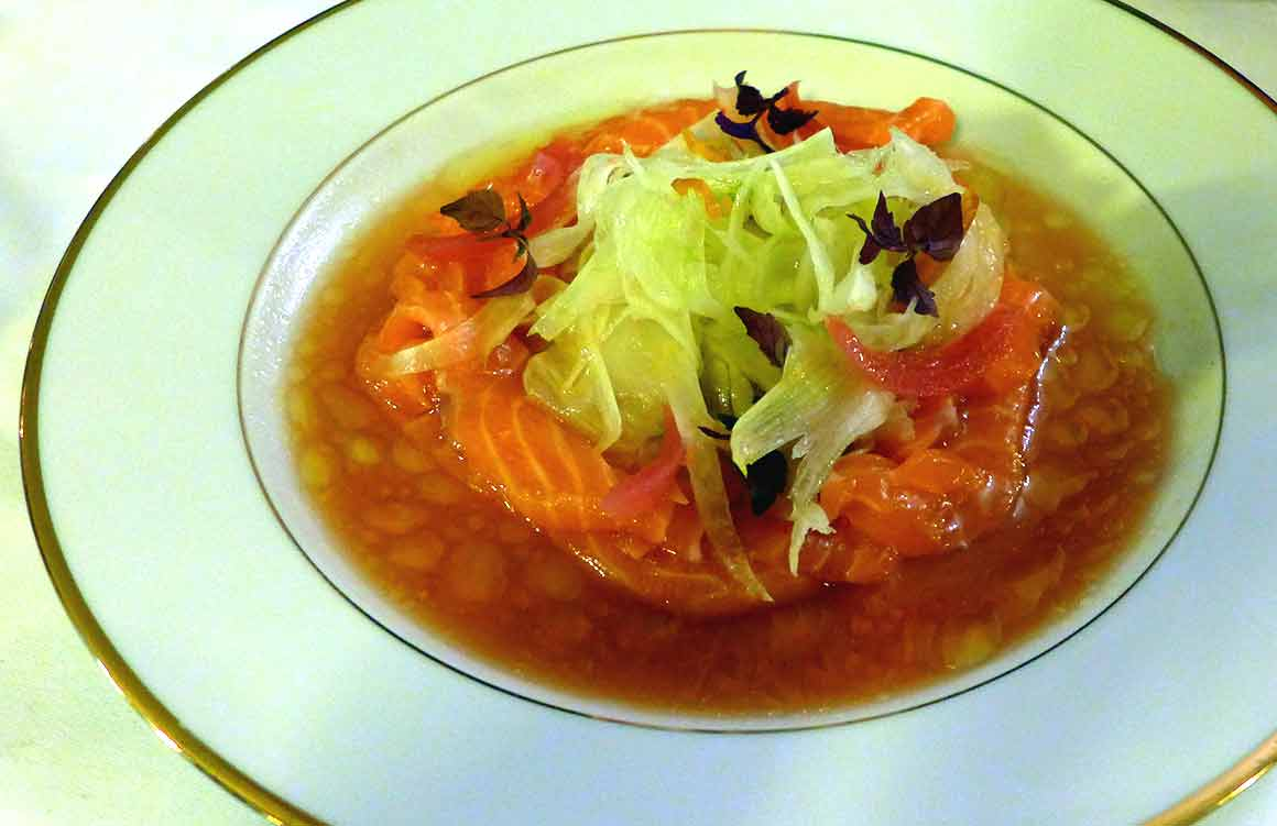 Restaurant FROUFROU, Saumon français