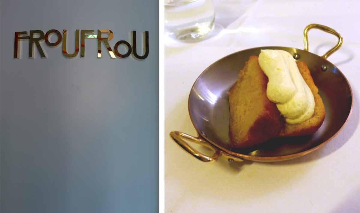 Restaurant FROUFROU, Frou frou - Baba au citron
