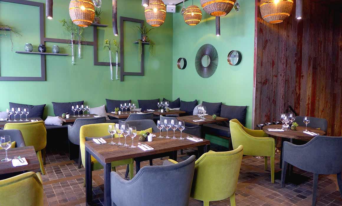 Restaurant Juvia, La salle