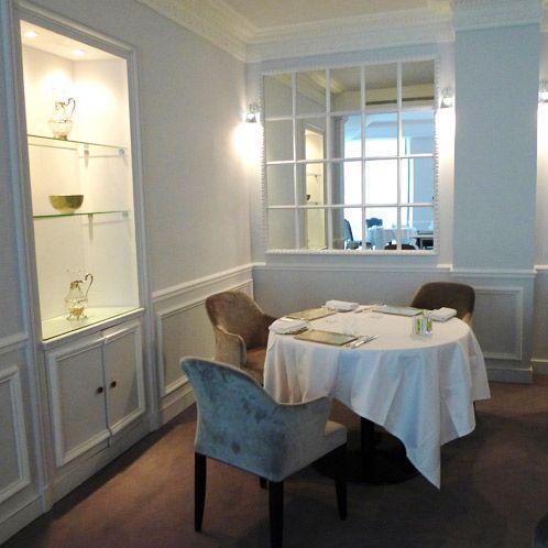 La salle élégante du restaurant Le KEI