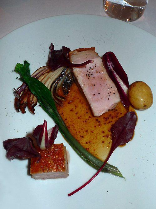 Restaurant Le KEI : Cochon de lait et ses légumes grillés