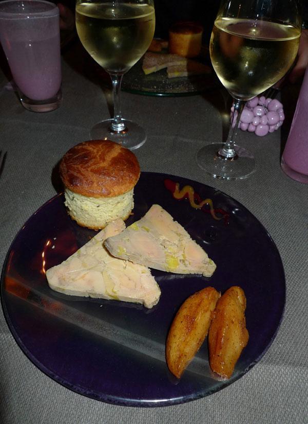 Restaurant L'Envue, foie gras
