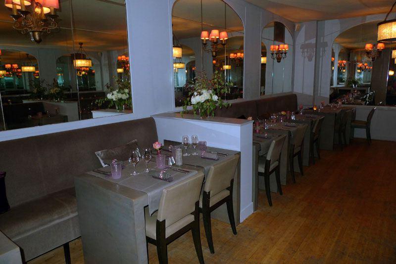 Restaurant L'Envue, la salle