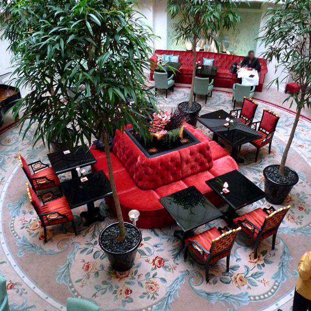 Restaurant La Bauhinia, la salle