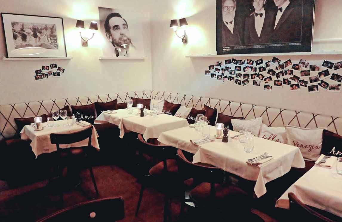 Restaurant Ma Goldo : La salle