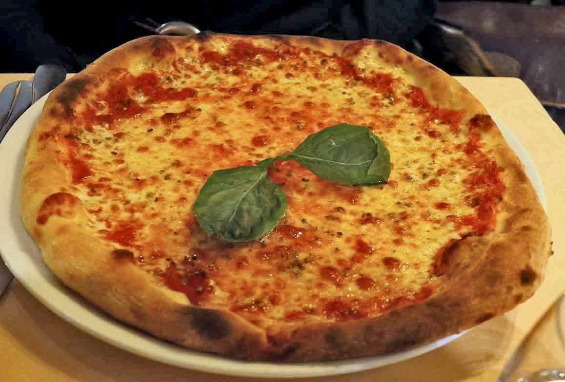 Restaurant Ma Goldo : Pizza Margherita