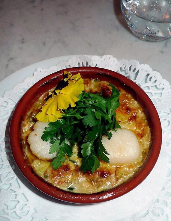 Restaurant La Boutarde : Cassolette de Saint-Jacques