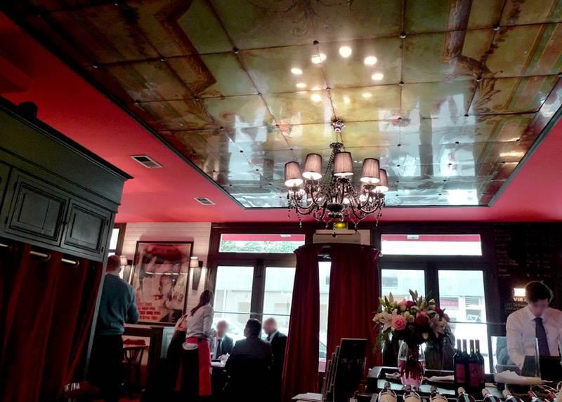 Restaurant La Boutarde : La salle