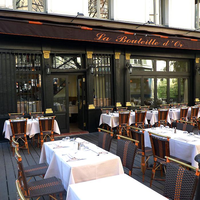 Restaurant La Bouteille d'Or, le resto