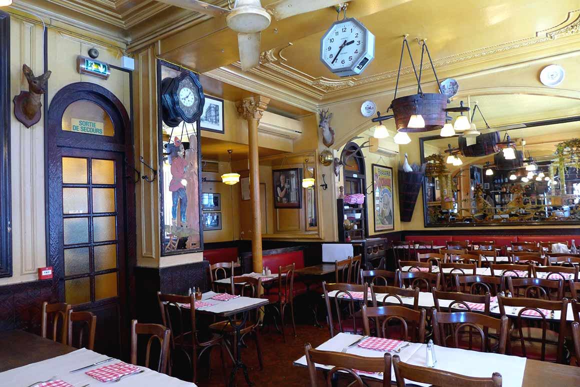 Restaurant La Brasserie de l'Isle Saint-Louis : La salle