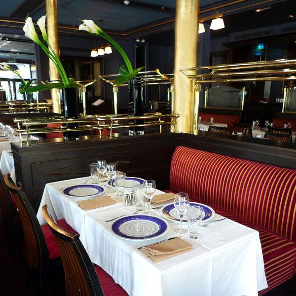 Brasserie du Louvre, confort du restaurant
