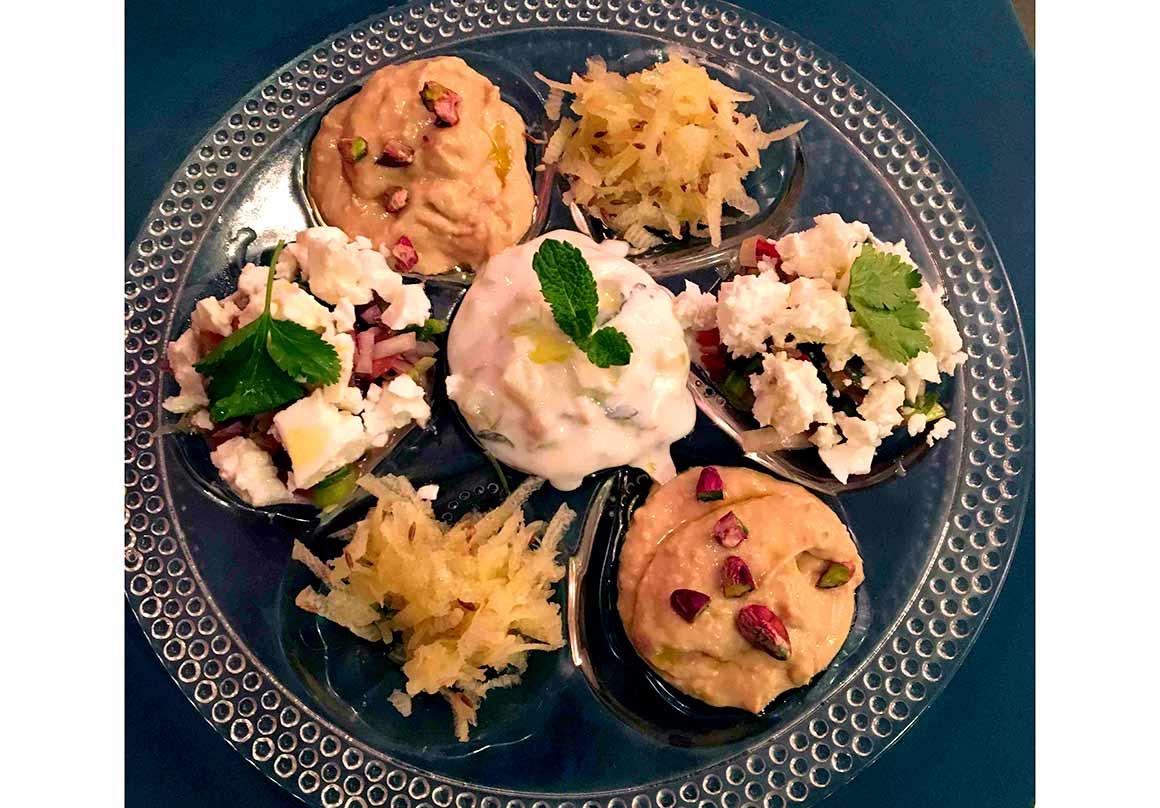 Restaurant La Cantine des Mama's : Les mezzés du monde des mama's