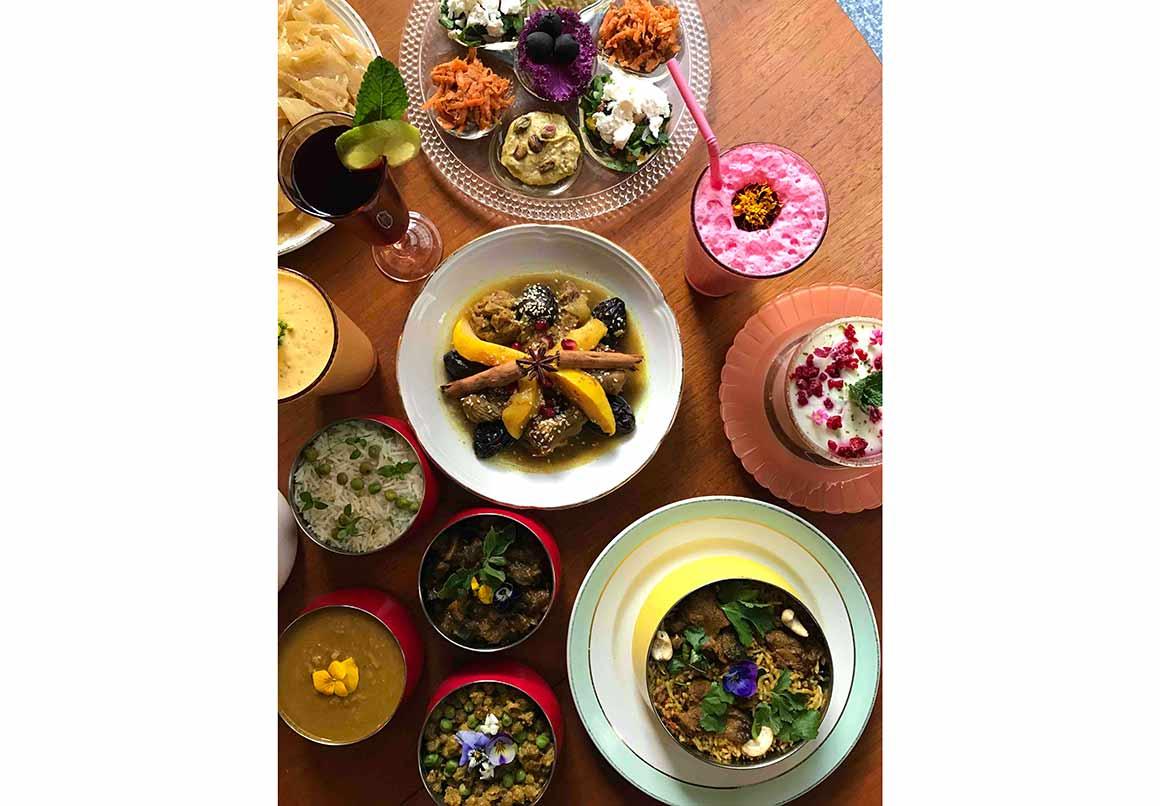 Restaurant La Cantine des Mama's : Carte de spécialités du monde