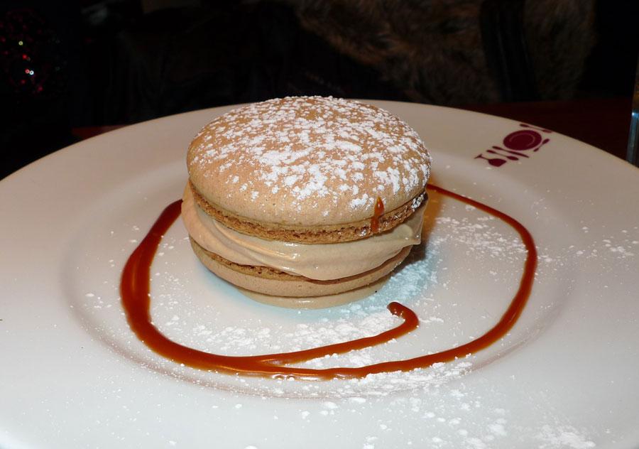 La Cantine du Troquet, Le macaron café praliné