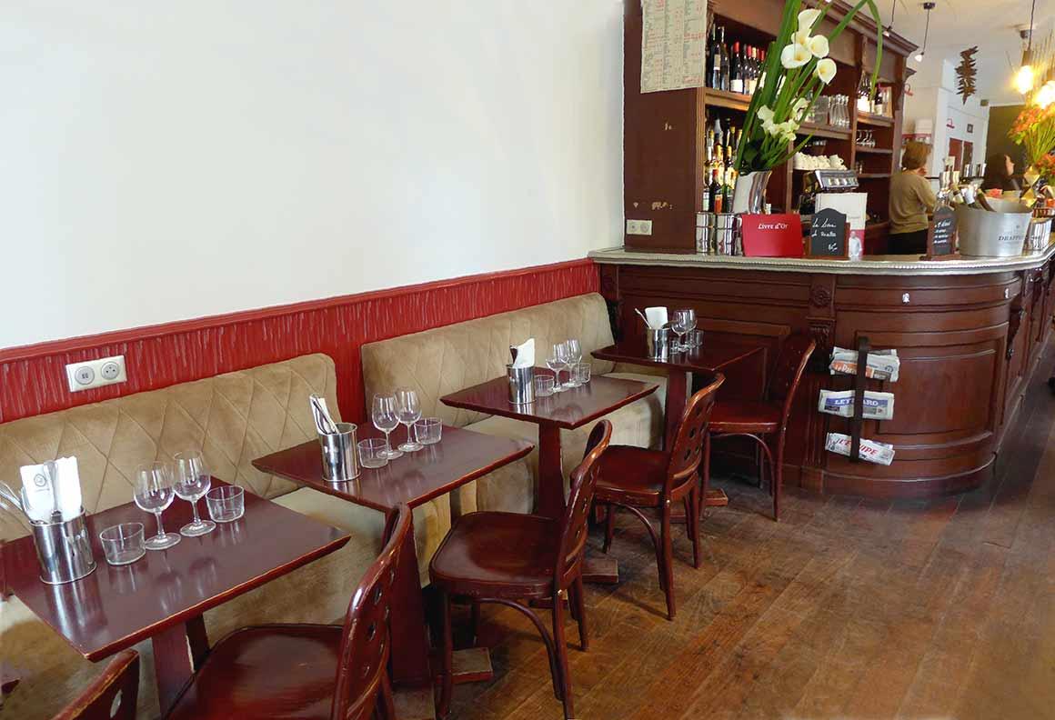 Restaurant La Cantine du Troquet Pereire : La salle