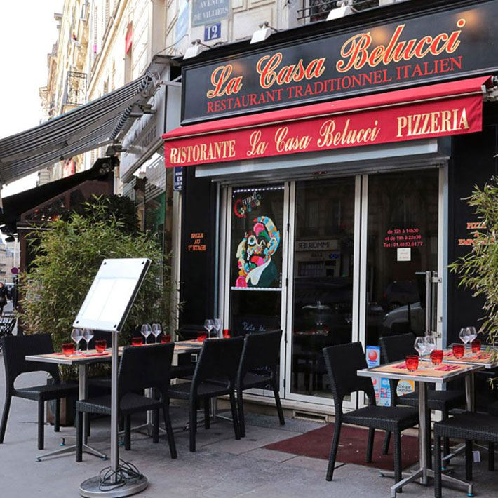 Restaurant La Casa Belucci, l'extérieur