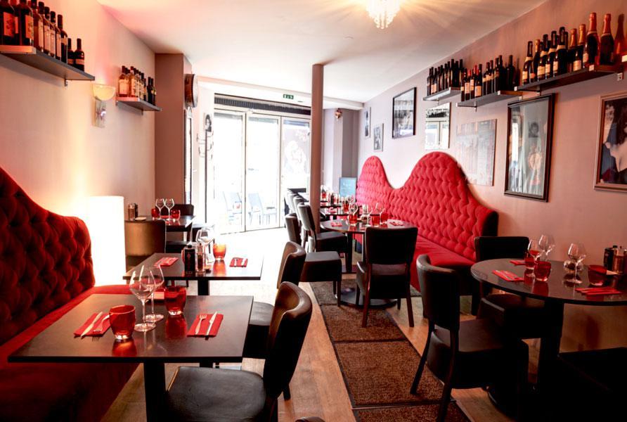 Restaurant La Casa Belucci, la salle