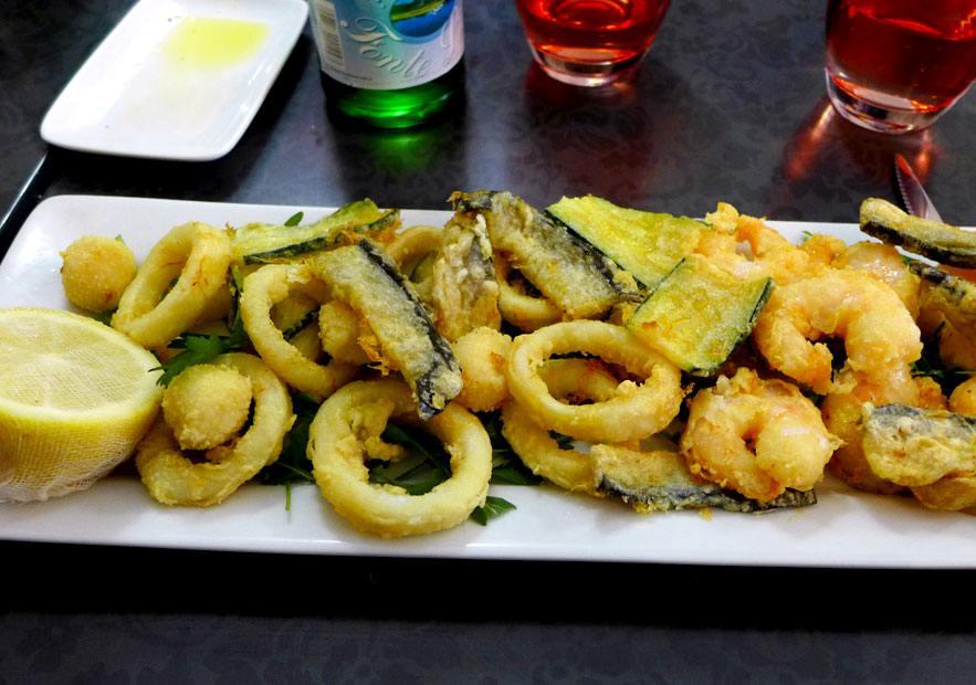 Restaurant La Casa Belucci : Fritto misto de Toscane