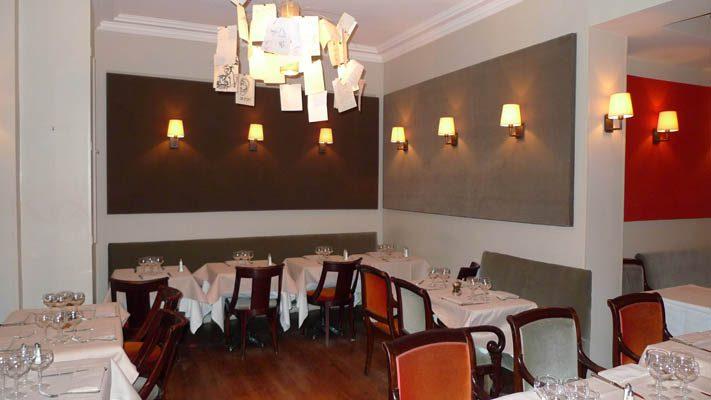 Restaurant La Cigale Récamier, la salle