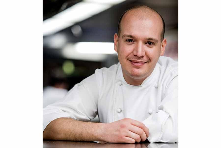 Restaurant la Cour Jardin, Le chef Mathieu Emeraud