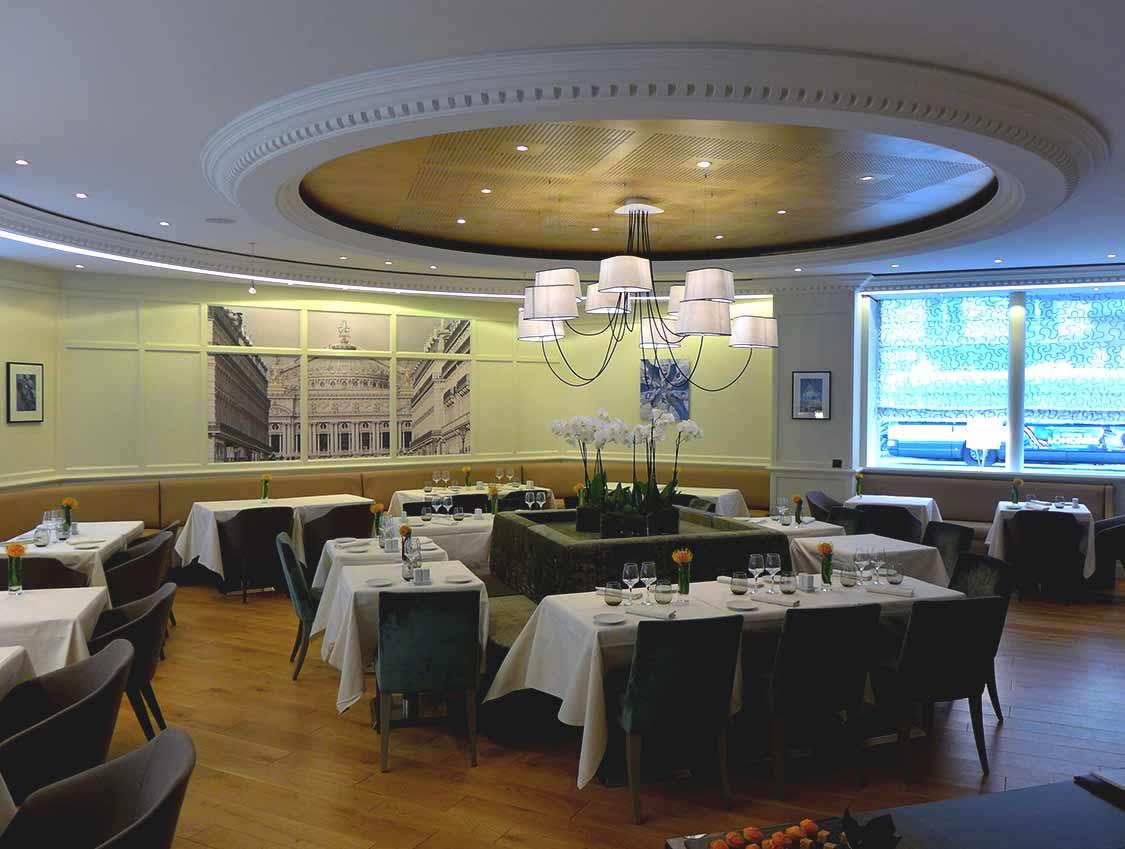 La salle du restaurant La Cuisine de l'E7