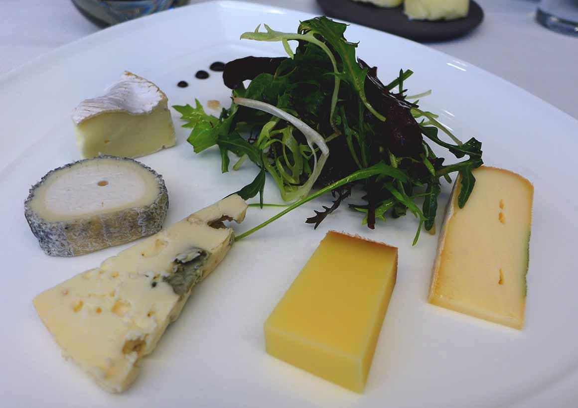 Restaurant La Cuisine de l'E7, Fromages affinés par Philippe Alléose