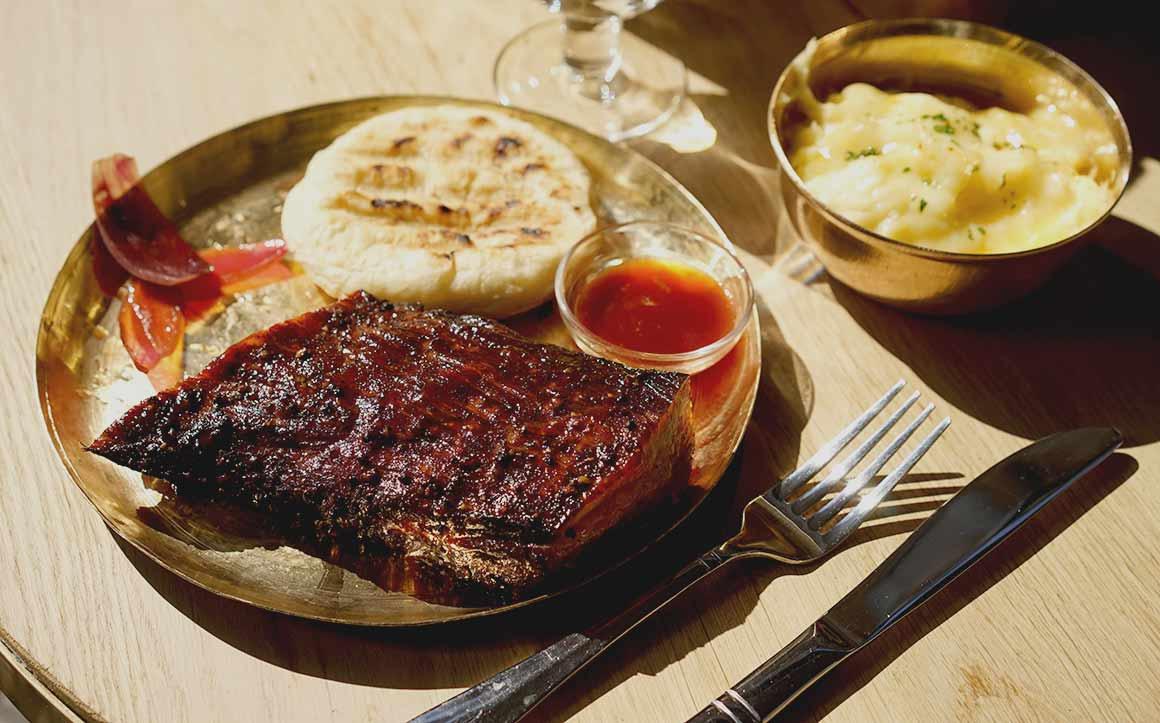 Restaurant Paris Texas : Ribs de cochon
