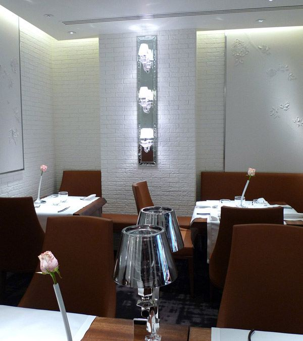 Restaurant La Dame de Pic, la salle