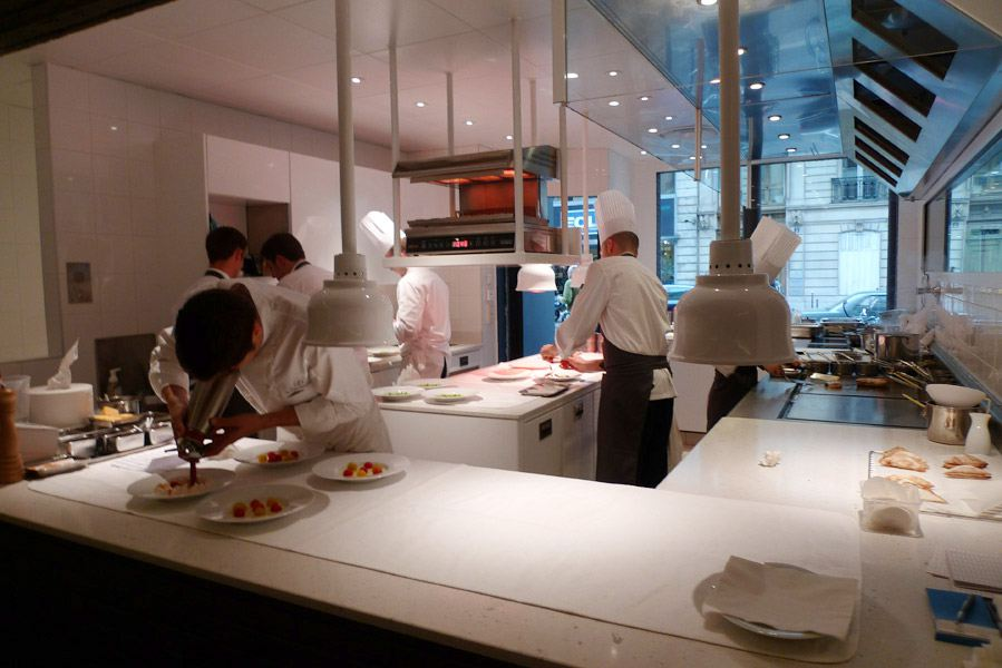 Restaurant La Dame de Pic, la cuisine