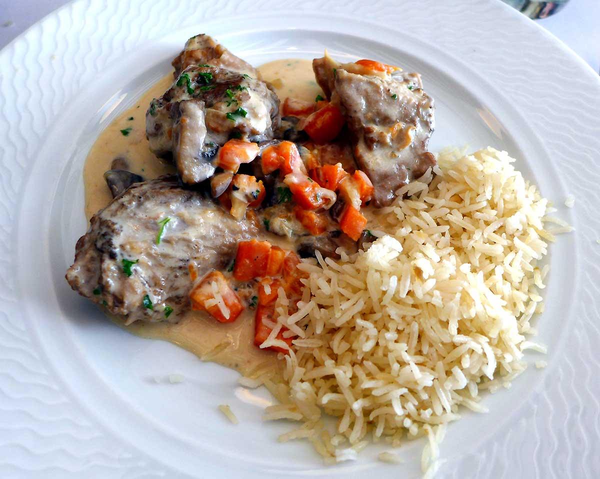 Bistrot La Ferrandaise : blanquette de veau « Ferrandaise »