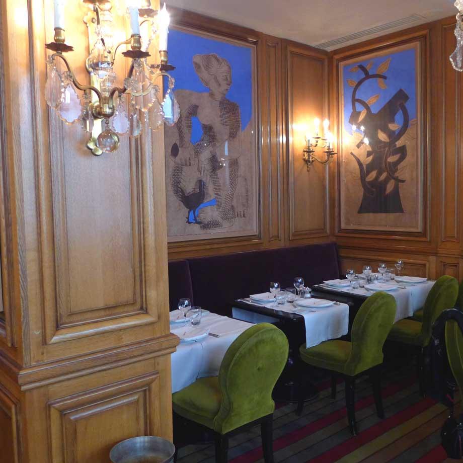 Restaurant La Fontaine Gaillon, la salle