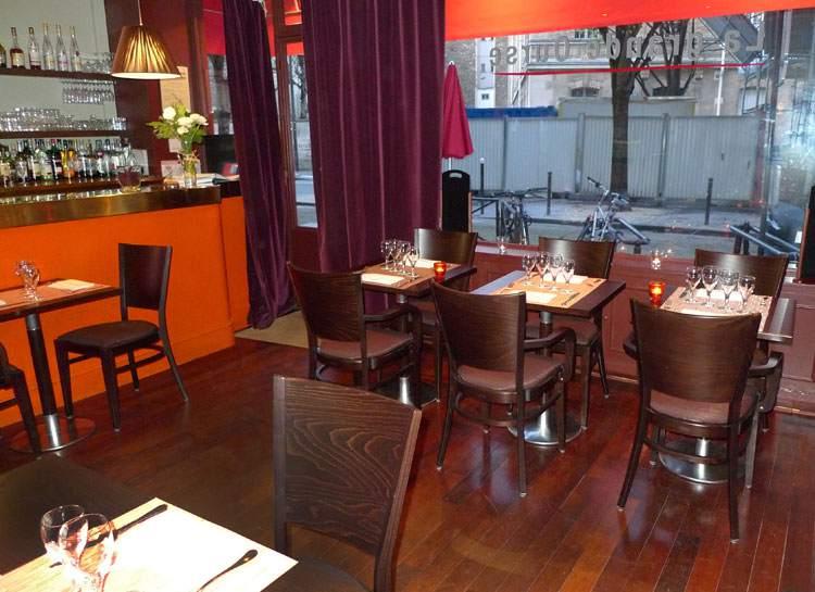 Restaurant La Grande Ourse, la salle