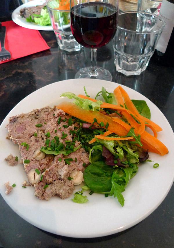 Restaurant Là-Haut, La terrine maison