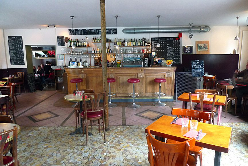 Restaurant Là-Haut, La salle du restaurant