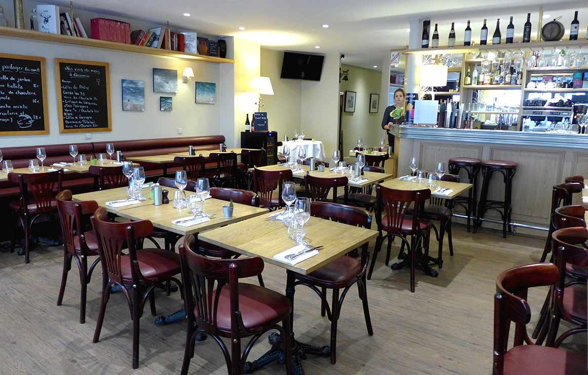 Restaurant La Haute Cloche, La salle