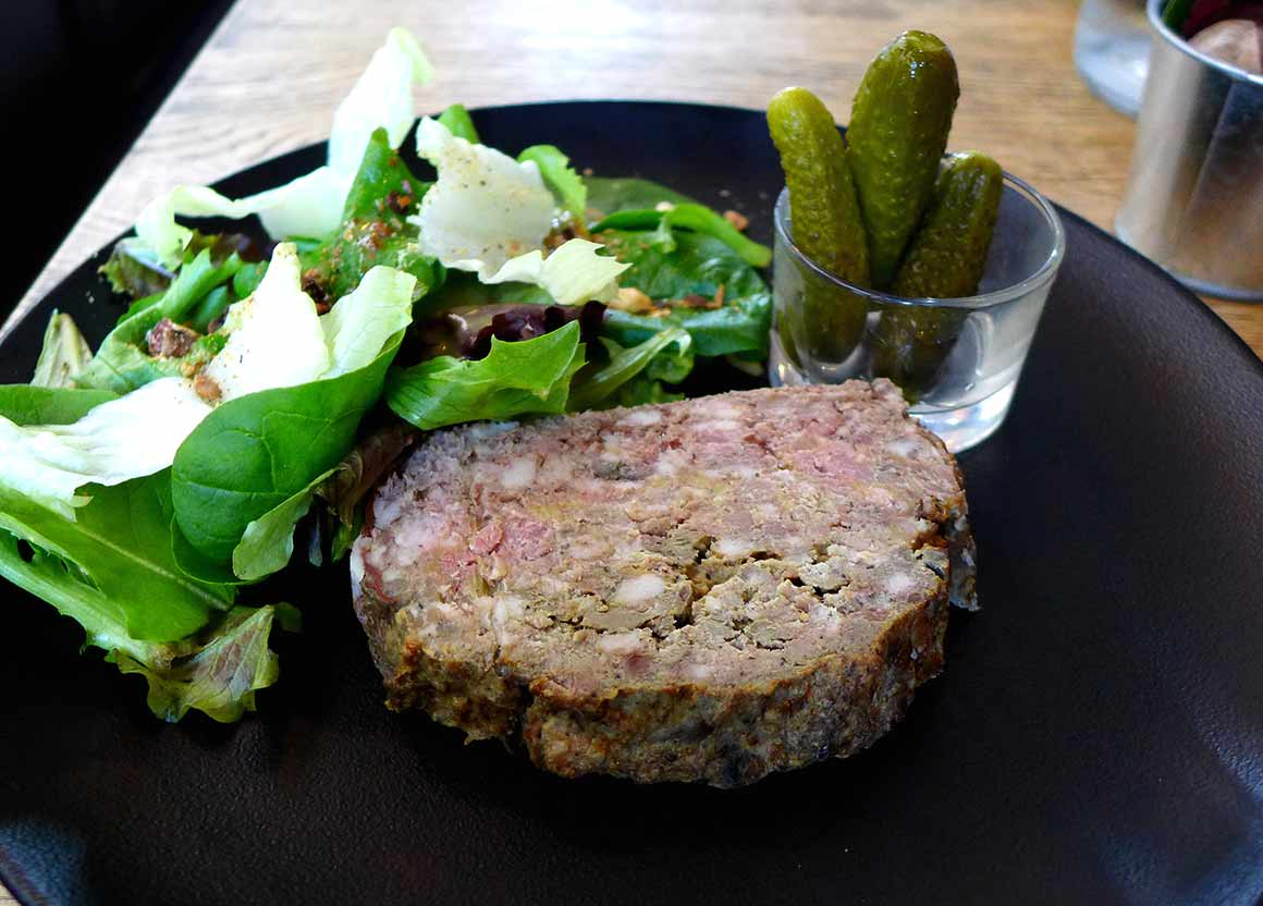 Restaurant La Haute Cloche, Terrine maison aux foies de volaille