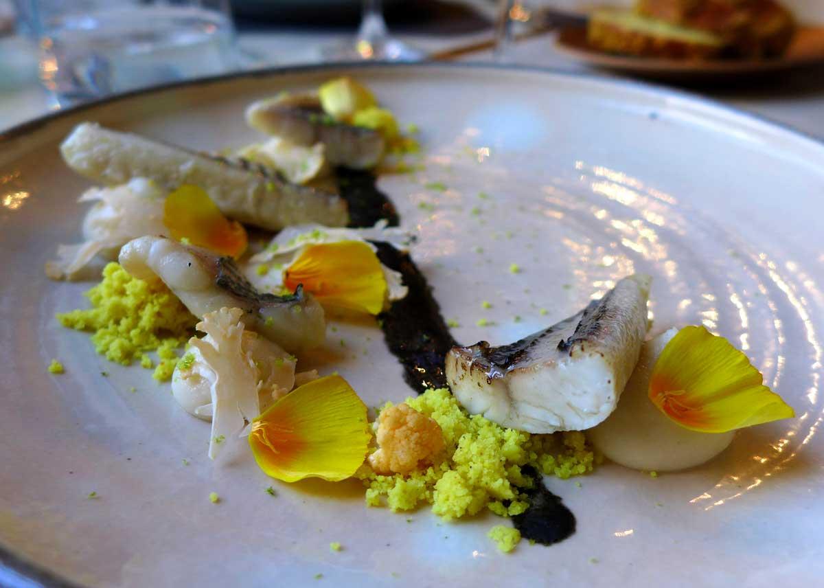 Restaurant La Maison d'à Côté : Anguille caramélisée
