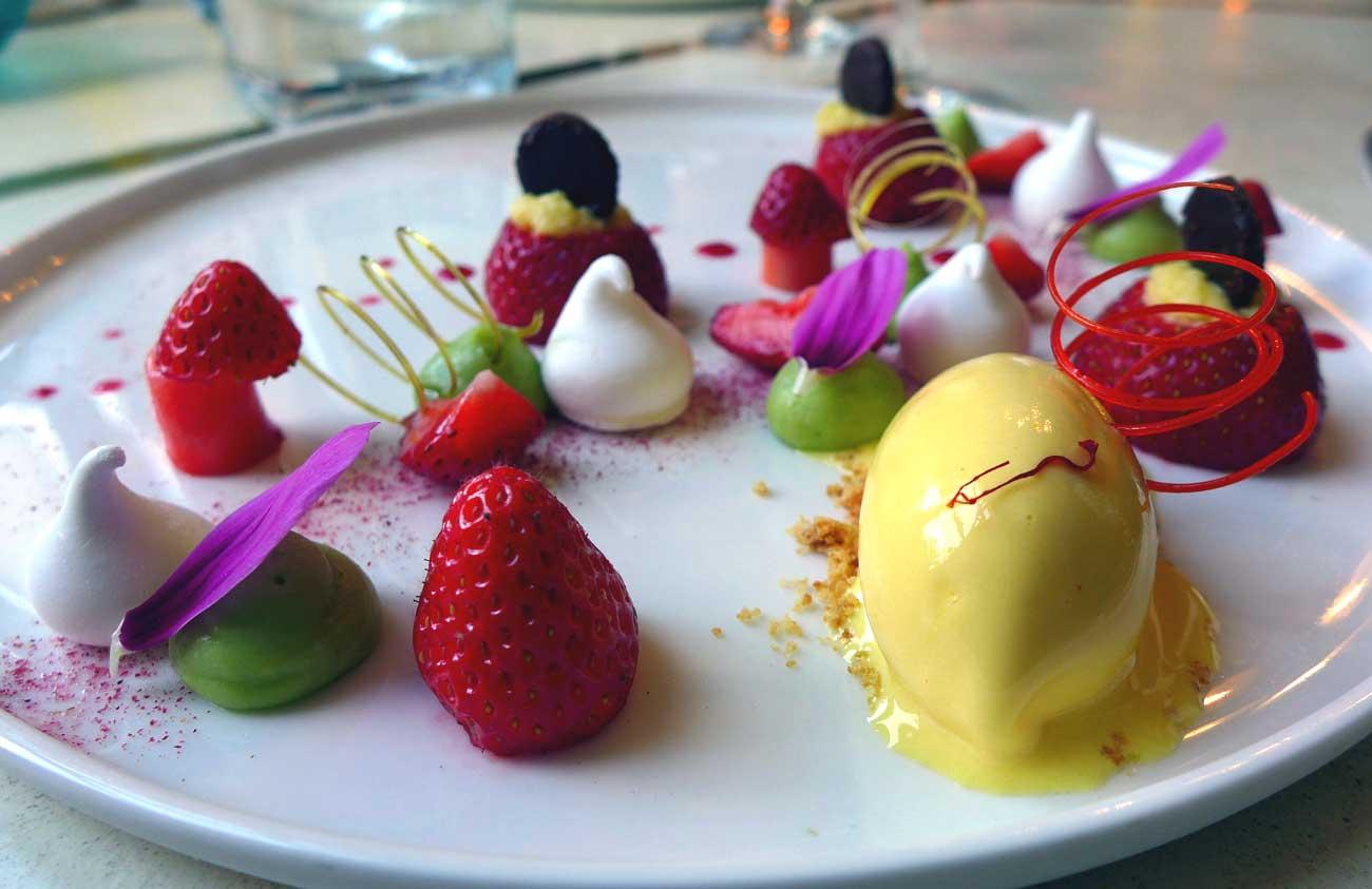 Restaurant La Maison d'à Côté : Fraises de madame Gouard