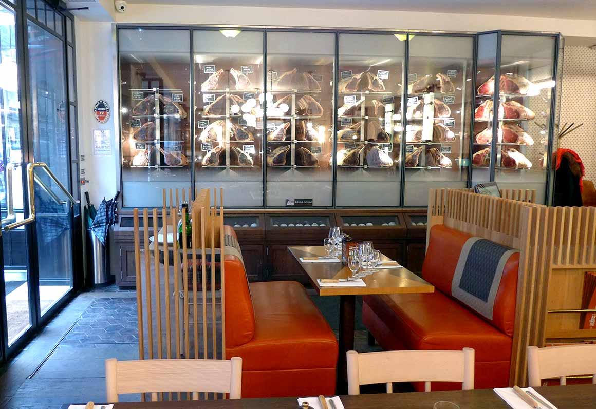 Restaurant La Maison de l'Aubrac : La salle