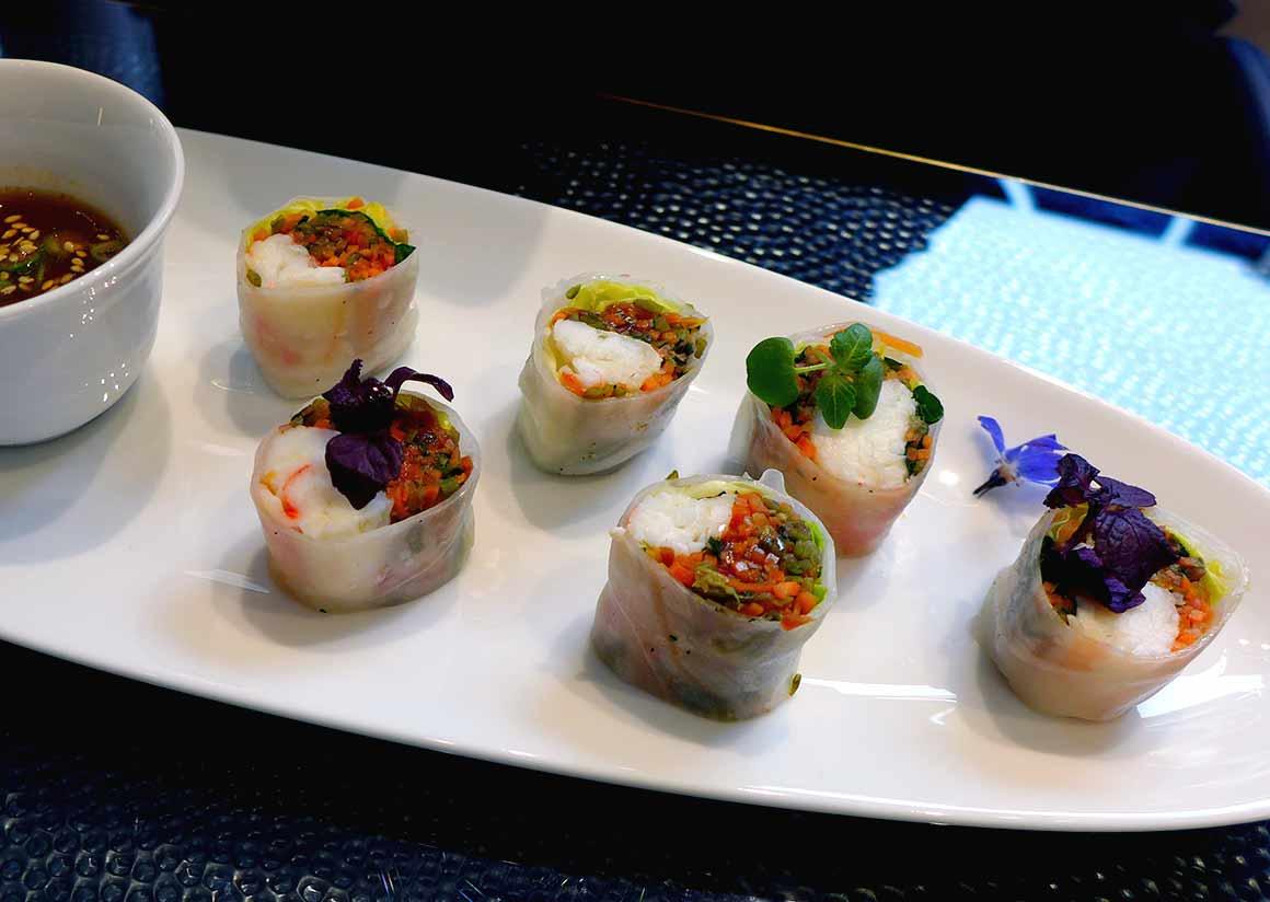 Restaurant La Maison Nordique : Maki de King Crab