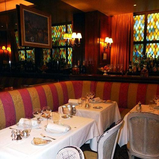 Restaurant La Marée, La salle
