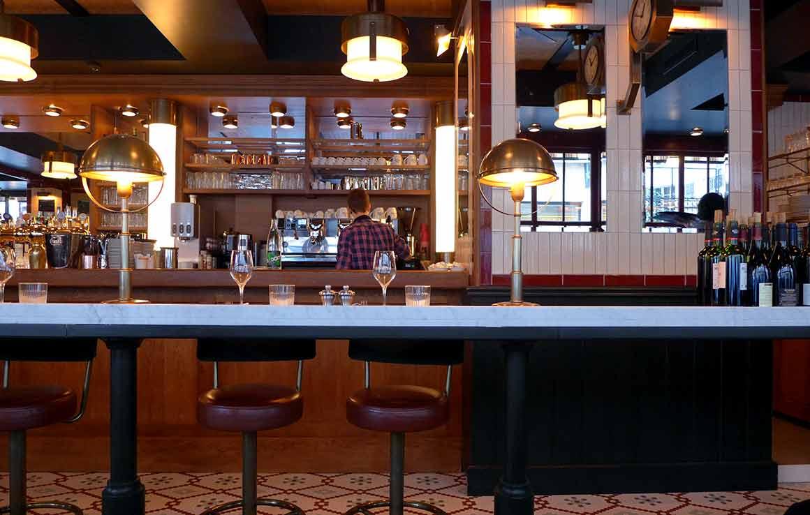 Brasserie Victor Hugo, la salle