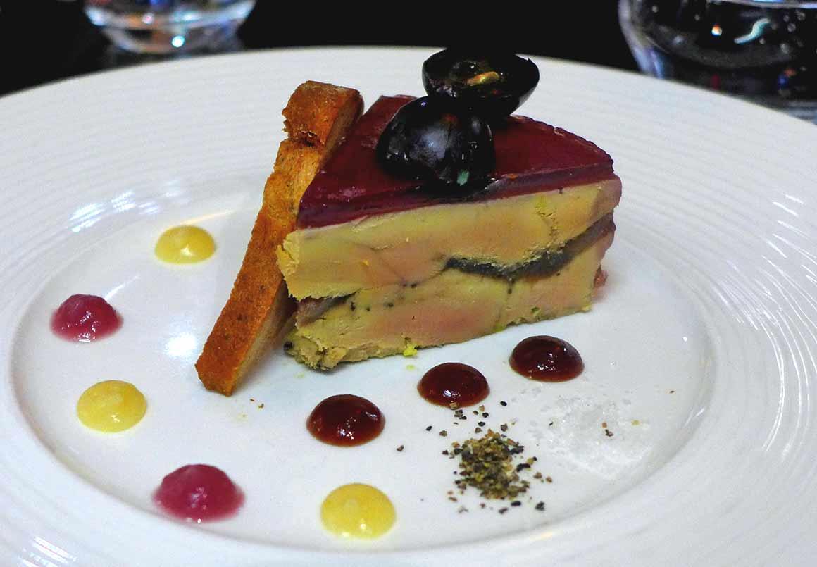 LA VILLA CORSE, Foie gras
