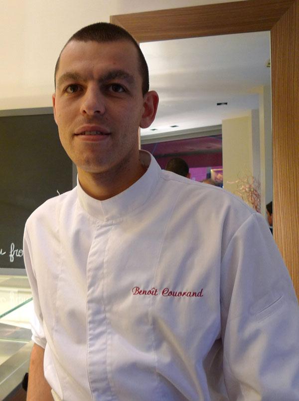 Pâtisserie Cyrril Lignac, Benoît Couvrand