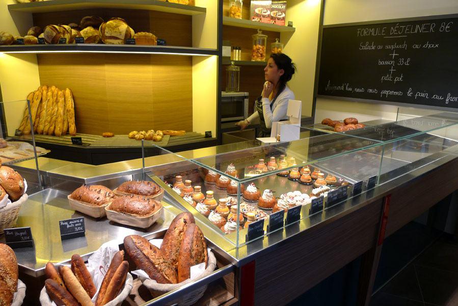 Pâtisserie Cyrril Lignac, La boulagerie-pâtisserie