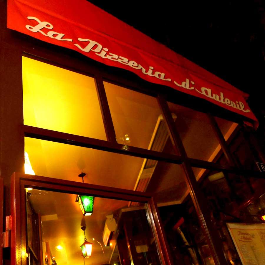 Pizzeria d'Auteuil, le restaurant